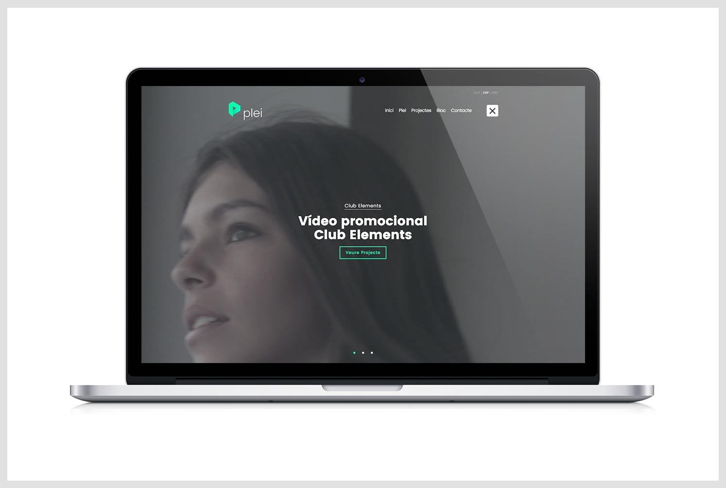 El lloc web de plei audiovisuals